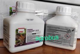 Coragen insecticide for garden and vegetable garden