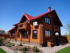Деревянные дома и бани, строительство под ключ