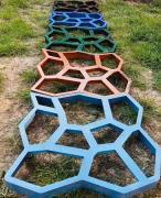Форма для садовой дорожки Запорожье Садовая дорожка из бетона