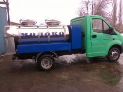 Изготовление рыбовозов, молоковозов, водовозов и прочих автоцист