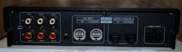 Процесcор Alpine PXA-H800 в комплекте с пультом Alpine RUX800