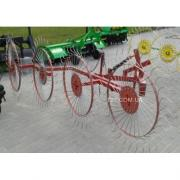 "Rake-tedder ""Sun"" 4-wheel (Ukraine)"